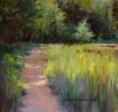 'Pastel painting ' by Marla Baggetta Owner - Southeast Atelier