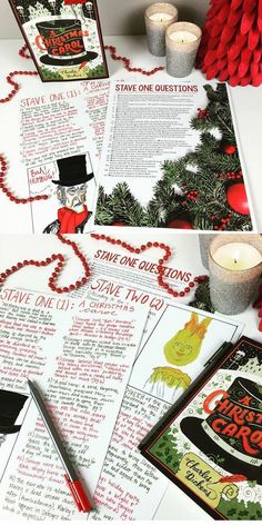 A Christmas Carol Questions 7th Grade English, High School English, School Resources, Teaching Resources, Teaching Ideas, A Christmas Carol Revision, Superhero Teacher, City Year, Teaching Literature