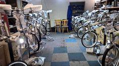 Bicicletas plegables eléctricas #beixo fabricadas en Holanda Bicicletas sin cadean, con cardan.  www.liberatedetucadena.com.es