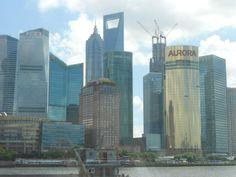 Shanghai - view fron the sea