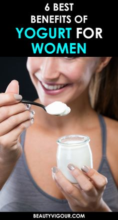Some may not know that yogurt is a tremendous product also for personal care and beauty. In this article, you'll know the benefits of yogurt for women. Plain Yogurt Benefits, Yogurt Health Benefits, Yogurt Hair Mask, Types Of Yogurt, Deep Conditioning Treatment, Natural Yogurt, Hydrating Mask, Plain Greek Yogurt, Healthy Women