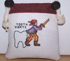 Tooth Fairy Pillow - Boys