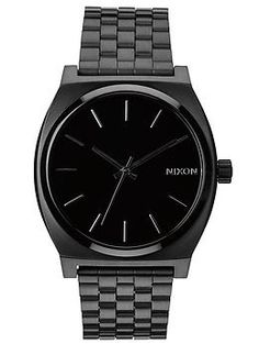 Nixon Time Teller black watch - sexy!