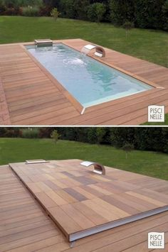 A tiny swimming pool is one of the greatest ideas if we have limited space but still want to have a beautiful exterior and outdoor space. And there are many swimming pool ideas which can provide smart shape to save more space in the house. But we need to consider the idea that even if it's small in size but still attractive, unique and offer a more relaxing space in the house. A tiny swimming pool provides a lot of fun and enjoyment for entire family.