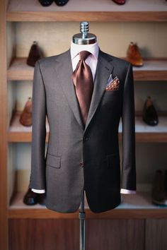 Join us today, Friday and Saturday for our Michel's Bespoke Trunk Show at LeatherFoot, 24 Bellair St, Yorkville. Der Gentleman, Gentleman Style, Mode Masculine, Sharp Dressed Man, Well Dressed Men, Men's Wardrobe, Capsule Wardrobe, Mens Fashion Suits, Mens Suits