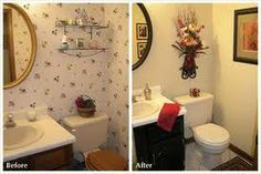 18 best staged homes before and after images on - Home staging bagno ...