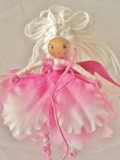 Pink Fairy Princess by TheFairyCrossing on Etsy, $25.00
