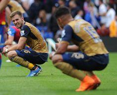 The Ox gives Rambo the thumbs up|| Crystal Palace 1 Arsenal 2 Arsenal.com