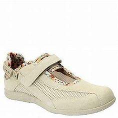 e471d02378 $160 Womens Drew Shoes JOY Sandals 7.5W Wide Bone Athletic Mary Janes  Diabetic #Drew