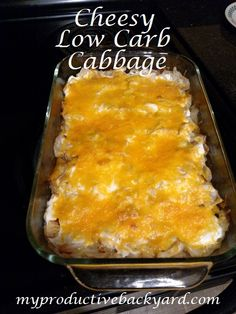 Cheesy Low Carb Cabbage is a side dish everyone will love! Cheesy Low Carb Cabbage is simple to put together and great with…