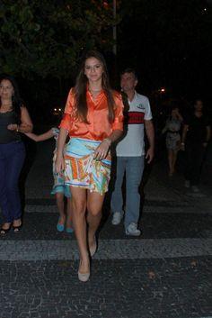 camisa laranja by Bruna Marquezine