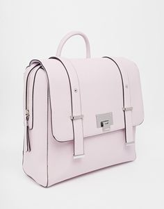 dd9324124d27 Image 2 of New Look Lilac Boxy Backpack Pink School Bags