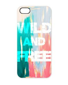 Wild and free iphone cover