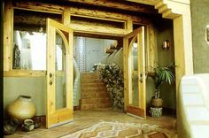 From earthship design...I know sounds crazy, but super cheap and sustainable way to live....