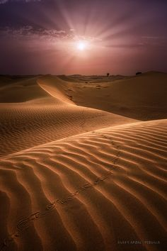 Slither Past You II by Baber Afzal on 500px... #Beautiful #Beauty #Beauty in nature #Desert #Love #Pattern #Ray #Sand #Sanddunes #Shadow #Sunlight #Sunrays #Sunrise #Texture #Track