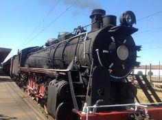 Baldwin Locomotive, Locomotora 820 Tren de la Araucanía. Estación Victoria.