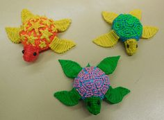 A few more student rewards (...my kids love the turtles) #3doodler #madewith3doodler #whatwillyoucreate