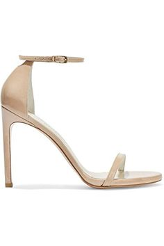9079ed9c47c Honeystore Womens Heel Sandals Ankle Strap Dress Sandals Stiletto Nude 10 BM  US    See