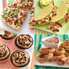 #Healthy 20-Minute #Dinner Recipes: Hawaiian BBQ Chicken Tacos, Italian Tuna Melts #quick