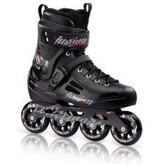 0c05217f3a3402 Rollerblades · Rollerblade 2012 Fusion 84 - Molded boots for strong ankle  support