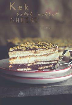 ~ Kek Batik Coklat Cheese... @FoodBlogs