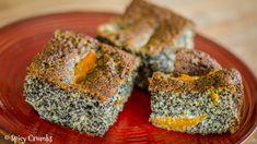 Makový koláč sovocem Spikes, Quiche, Baking, Breakfast, Cake, Desserts, Food, Bread Making, Breakfast Cafe