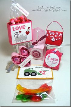 LeAnne Pugliese WeeInklings CASEd Valentine Candy Favors Stampin Up