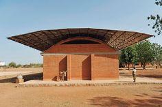 Extension to the Gando elementary school, Gando, Burkina Faso, by Diébédo Francis Kéré