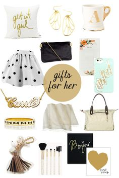 Gifts for her (or me)