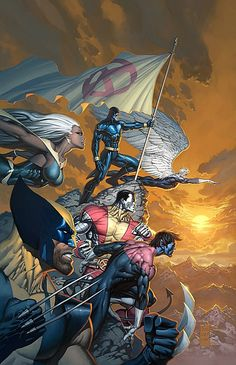 Uncanny X-Men #492 (Variant Cover) by Marc Silvestri