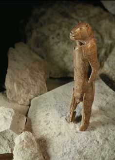 Ice Age Lion Man is worlds earliest figurative sculpture: The latest news is that almost 1,000 further fragments of the statue have been found, following recent excavations in the Stadel Cave by Claus-Joachim Kind. Conservators are now painstakingly reassembling the Lion Man, using computer-imaging techniques. The sculpture's age has been refined using radio-carbon dating, revealing a date of 40,000 years ago, while until recently it was thought to be 32,000 year old.