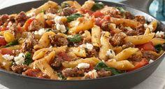 greek style skillet supper