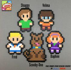 Imanes de Scooby Doo o adornos  adornos de Scooby Doo imanes
