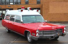 Big old ambulance