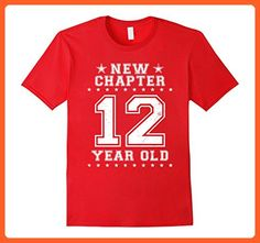 Mens 12 Year Old 12th Birthday T-Shirts Funny Gifts Born In 2005 2XL Red - Birthday shirts (*Partner-Link)