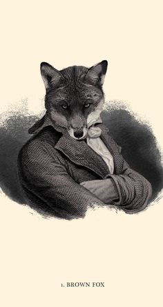 The Quick Brown Fox, by Andreas Scheiger