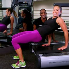 Beyond Running: 4 Unique Moves to Shred It on a Treadmill. So great for an at-home treadmill routine that gets boring fast!