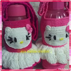 Pin by nzz912 craft on sarung botol pinterest sarung botol hello kitty ccuart Image collections