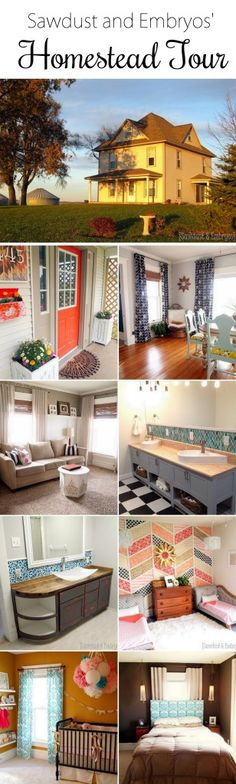 Gorgeous Farmhouse Transformation {Sawdust and Embryos}
