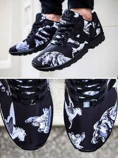 "✨ for more like this Adidas ZX Flux ""Mythology"" Adidas Zx Flux, Zapatos Shoes, Shoes Sneakers, Sneakers Adidas, Baskets Addidas, Crazy Shoes, Me Too Shoes, Souliers Nike, Shoe Boots"