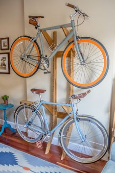 Note : The Moose comes in finished maple or finished light bamboo (we are currently out of stock of the. This wall mounted indoor bicycle storage solution is designed as a piece of functional furniture for artistically protecting and displaying.