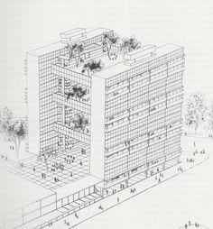 """""""Hanging Gardens"""", Walter Segal"""