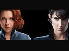 Natasha Romanoff (Black widow) and Maria Hill - The Avengers