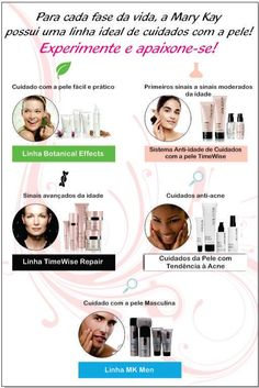 A Mary Kay tem os produtos certos para as peles certas! Agende sua sessão de beleza e experimente gratuitamente os produtos ideais para seu tipo de pele.  Luara Barbosa - Diretora Sênior  de Vendas Independente Mary Kay  /  Whats App (15) 991214469 Mary Kay Brasil, Mary Kay Ash, Make Up, Skin Care, Pictures, App, Blog, Mary Kay Makeup, Skincare Routine