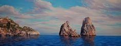 Transparències a les Illes MedesOleo s/tela40 x 100 cm.