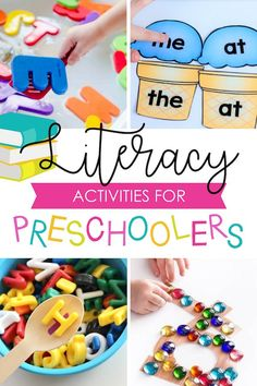 4201 Best Activities For Preschoolers And Pre K Learners Images In