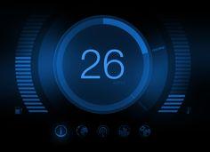 Car dashboard interface by ~carlnewton