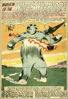 Strange Adventures #116, 1960, art by Russ Heath