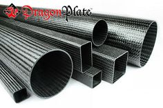 DragonPlate Carbon Fiber Tubes allow you to make lightweight rigid structures