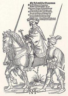 Artist: Schoen, Erhard, Title: Böhmischer Hauptmann, Date: ca. 1530